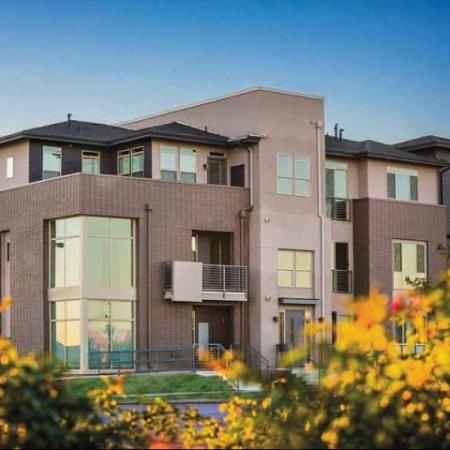 Colorful view of our Denver Apartments | The Aster