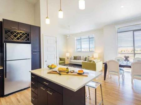 connected kitchen areas | Denver apartments