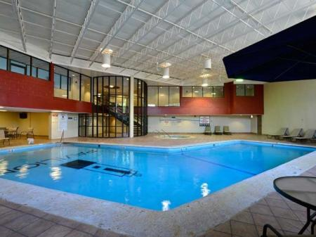 Luxury Amenities: Indoor Pool | The Pavilion