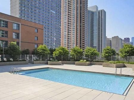 Pool Area | Sky55 apartments at Central Station