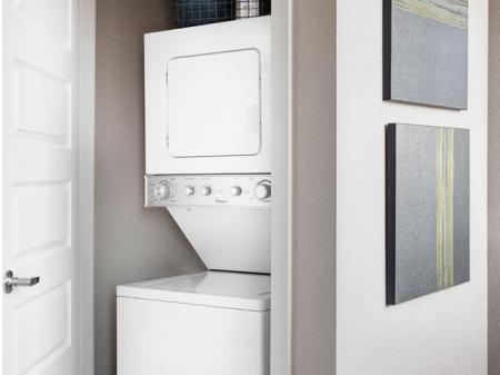 Denver Apartments | In-Suite Washer and Dryer