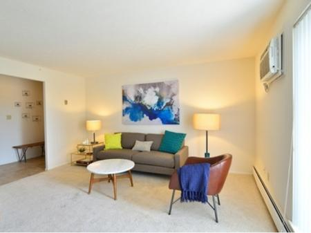 Spacious Living Room | Apartments in Parma | Midtown Towers