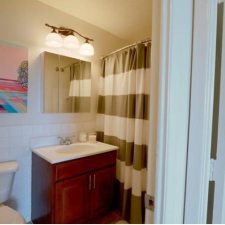 Typical Bathroom at Midtown Towers Apartments | Parma