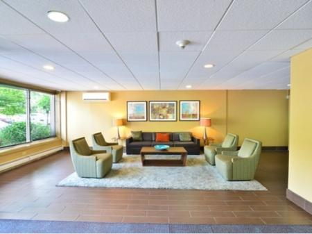 Building Three Lobby at Midtown Towers Apartments | Parma, OH