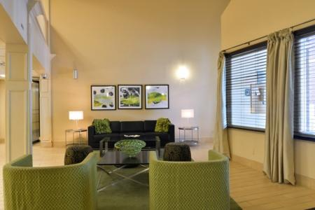 Building 2 Lobby at Midtown Towers | Apartments in Parma, OH