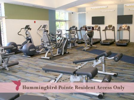 Fitness Room | Hummingbird Pointe Apartments