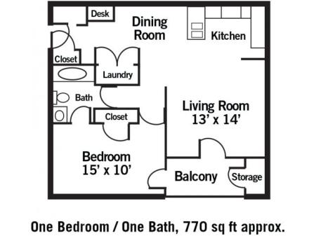 The Ashford - 1 Bedroom