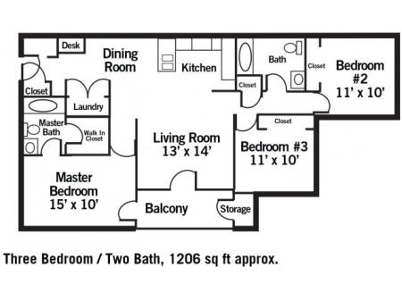 The Wilmington - 3 Bedroom