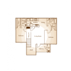 2D Floor Plan image 1 for the 2 BR Floor Plan of Property Central Park Apartments
