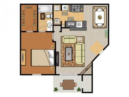 One Bedroom  (A2)