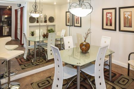 Coffee Cafe Seating | Landmark at Avery Place Apartment Homes Tampa, FL