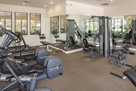 Fitness Center | Landmark at Avery Place Apartment Homes Tampa, FL