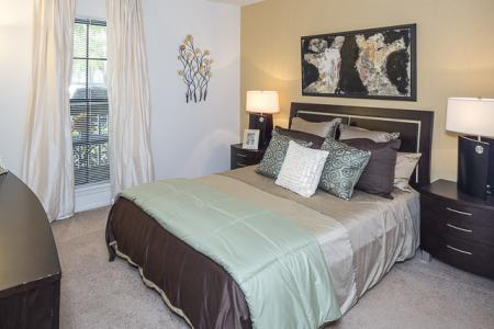 Bedroom | Landmark at Avery Place Apartment Homes Tampa, FL
