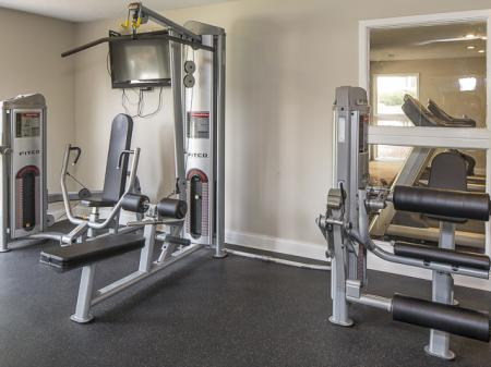 Fitness Center | Landmark at Bella Vista Apartment Homes Duluth, GA