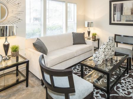 Living Room | Landmark at Bella Vista Apartment Homes Duluth, GA