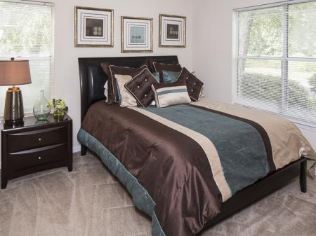 Master Bedroom | Landmark at Bella Vista Apartment Homes Duluth, GA