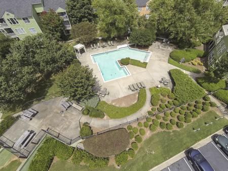 Aerial View of Landmark at Bella Vista Apartment Homes Duluth, GA