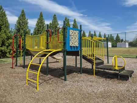 Outdoor Playground | Caveness Farms Apartment Homes Wake Forest, NC