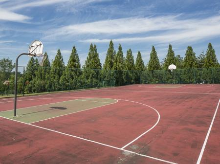 Basketball Court | Caveness Farms Apartment Homes Wake Forest, NC