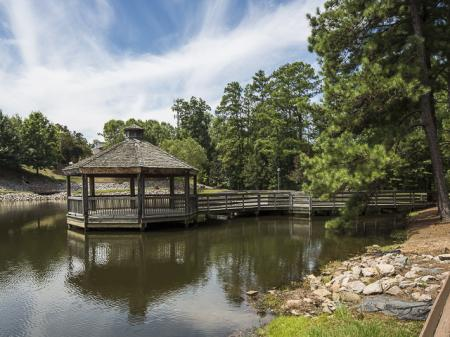 Gazebo on the Water | Caveness Farms Apartment Homes Wake Forest, NC