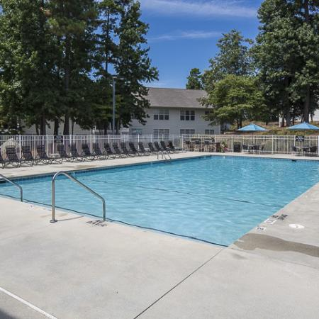 Swimming Pool | Caveness Farms Apartment Homes Wake Forest, NC