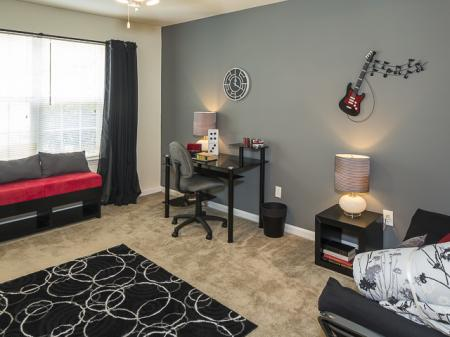 Spacious Room | Caveness Farms Apartment Homes Wake Forest, NC