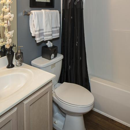 Bathroom | Caveness Farms Apartment Homes for Rent Wake Forest, NC