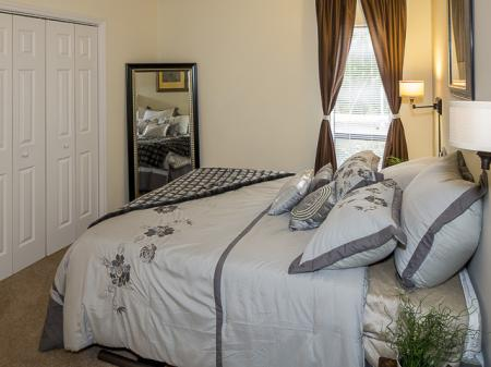 Master Bedroom | Landmark at Chesterfield Apartment Homes in Pineville, NC