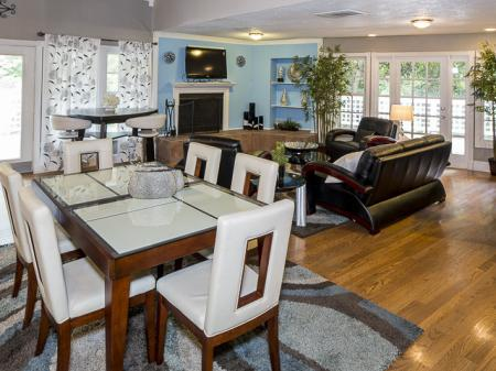 Resident Clubhouse | Landmark at Chesterfield Apartment Homes Pineville, NC