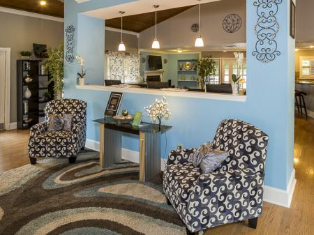 Open Living | Landmark at Chesterfield Apartment Homes in Pineville, NC