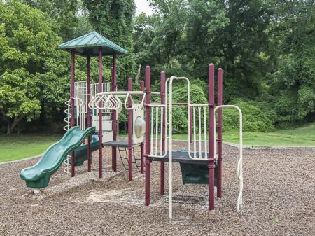 Playground | Landmark at Chesterfield Apartment Homes in Pineville, NC