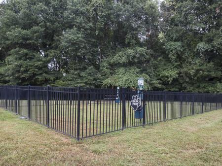 Dog Park | Landmark at Chesterfield Apartment Homes in Pineville, NC