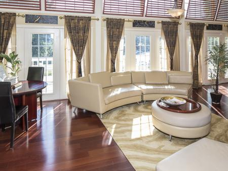 Lounge Area | Grand Arbor Reserve Apartment Homes Raleigh, NC
