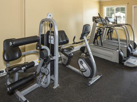 Fitness Center | Grand Arbor Reserve Apartment Homes Raleigh, NC