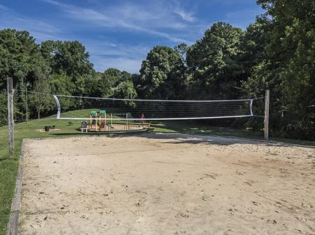 Sand Volleyball Court | Grand Arbor Reserve Apartment Homes Raleigh, NC