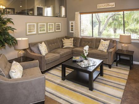 Resident Seating Area | Landmark at Barton Creek Apartment Homes in Austin, TX