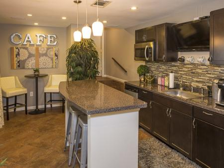 Coffee Cafe | Landmark at Barton Creek Apartment Homes in Austin, TX