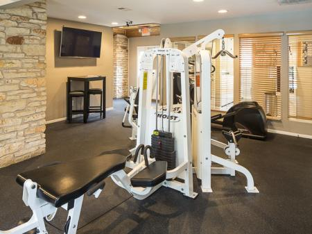 Resident Gym | Landmark at Barton Creek Apartment Homes in Austin, TX