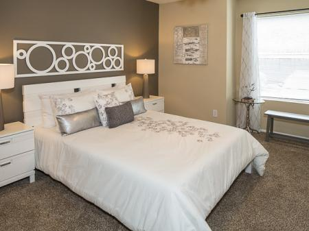 Bedroom | Landmark at Barton Creek Apartment Homes in Austin, TX