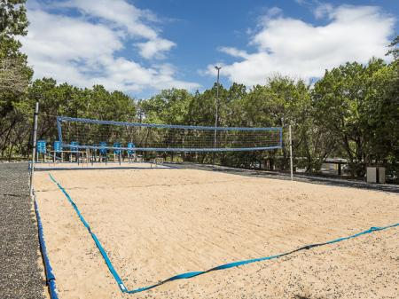 Volleyball Court | Landmark at Barton Creek Apartment Homes in Austin, TX