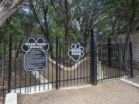 Dog Park | Landmark at Barton Creek Apartment Homes in Austin, TX