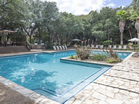 Swimming Pool | Landmark at Barton Creek Apartment Homes in Austin, TX
