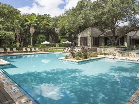 Resident Pool | Landmark at Barton Creek Apartment Homes in Austin, TX