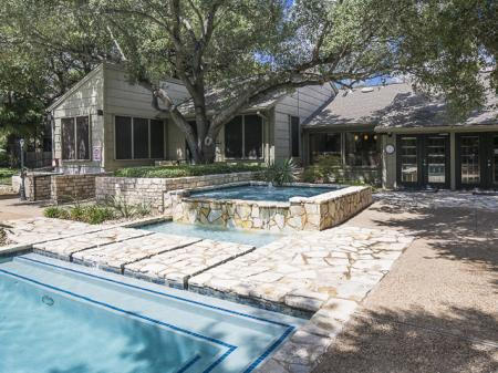 Pool Area | Landmark at Barton Creek Apartment Homes in Austin, TX