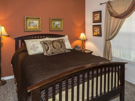 Bella Ruscello Luxury Apartments | Furnished Bedroom