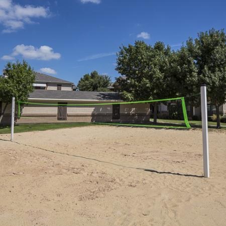Sand Volleyball Court | Rock Ridge Apartment Homes Arlington, TX