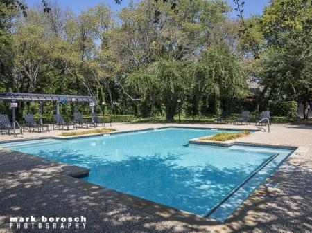 Outdoor Pool | Landmark at Collin Creek Apartment Homes in Plano, TX