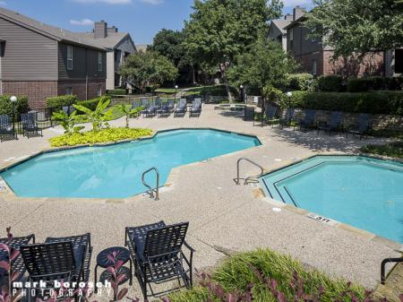 Two Swimming Pools | Landmark at Collin Creek Apartment Homes in Plano, TX