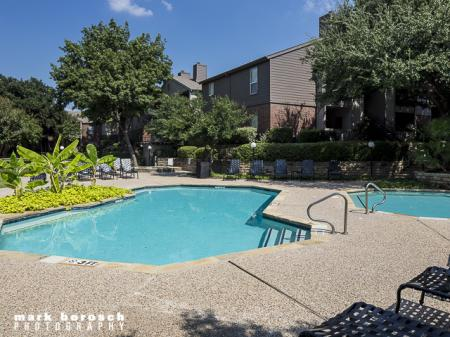 Two Pools | Landmark at Collin Creek Apartment Homes in Plano, TX