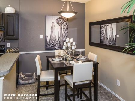 Dining Room | Landmark at Collin Creek Apartment Homes in Plano, TX